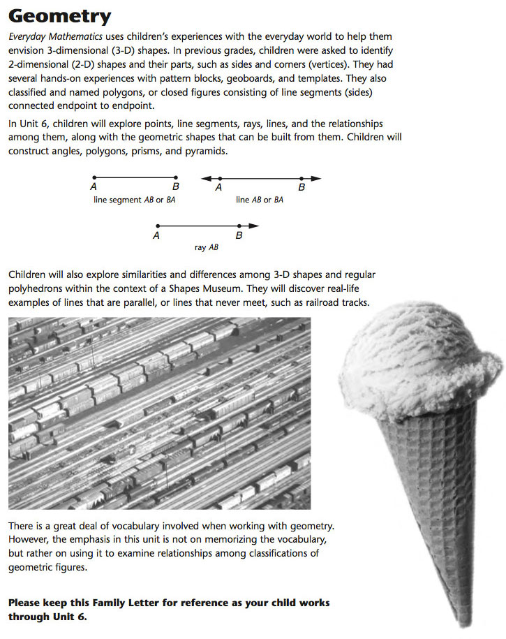 Nice Everyday Mathematics Geometry Template Vignette - Resume Ideas ...